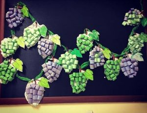 Grape Craft Preschool Funnycrafts