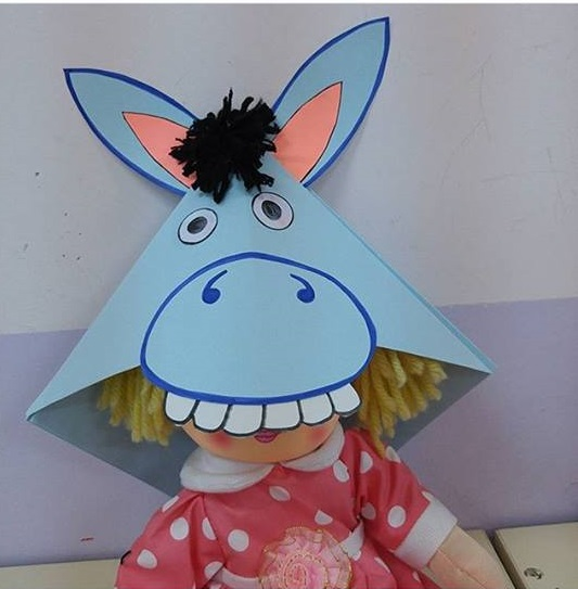 Donkey Craft Ideas 1 on Recycle Worksheets
