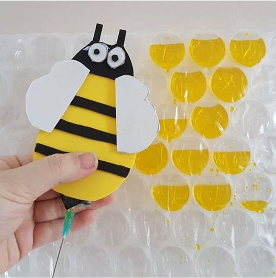Bee Craft For Preschoolers on Printable Worksheets For Pre Bee