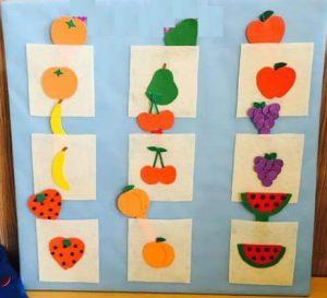 Fruit and vegetables crafts for preschool   funnycrafts