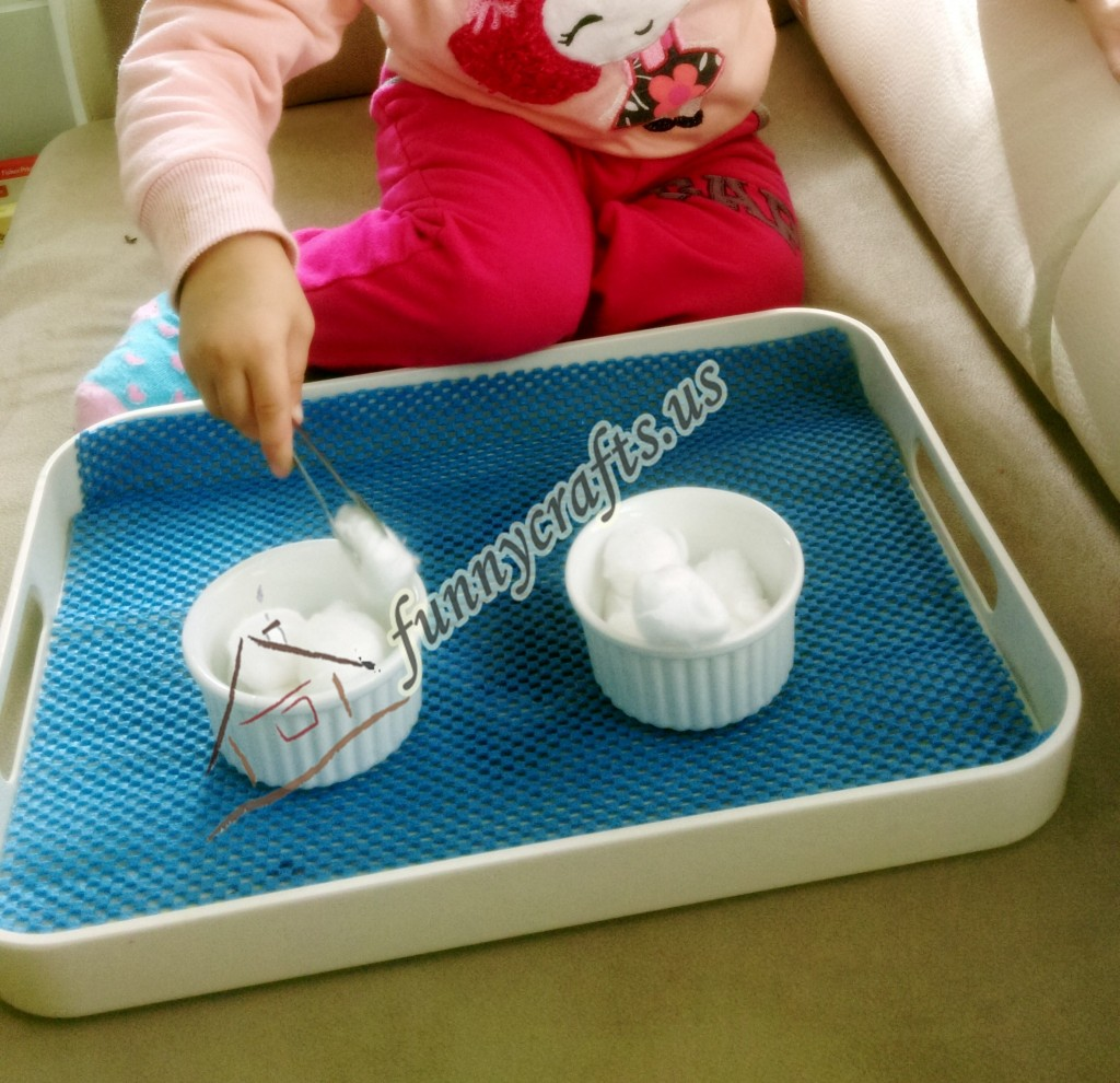 cotton transfer for toddlers