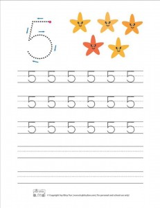 Let's count and write the figures_fıve