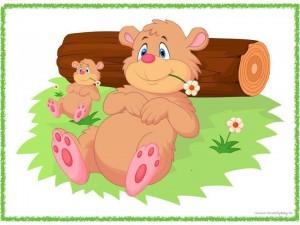 big_and_small_bear