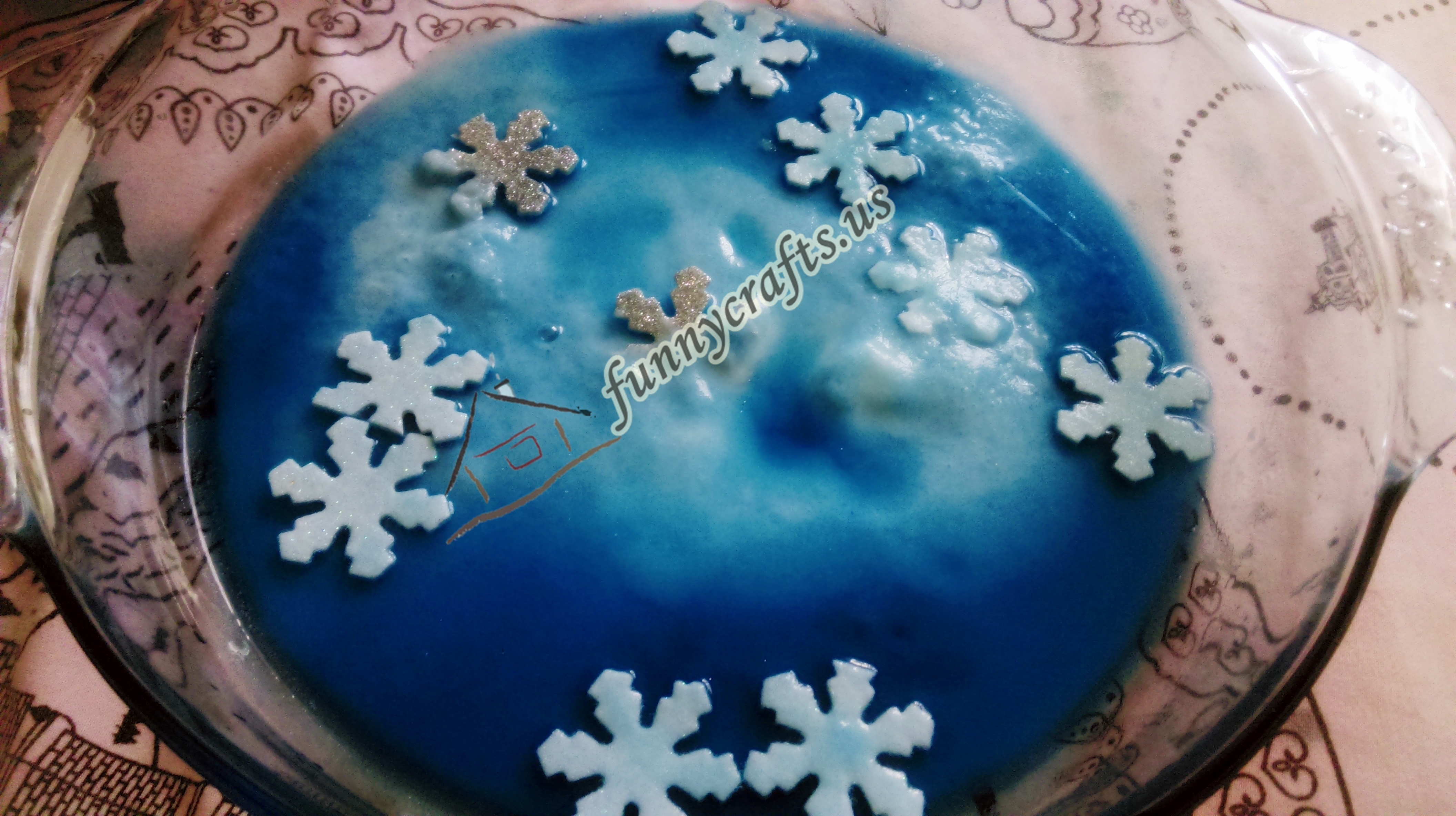 Photo of Winter Sensory Science Activity