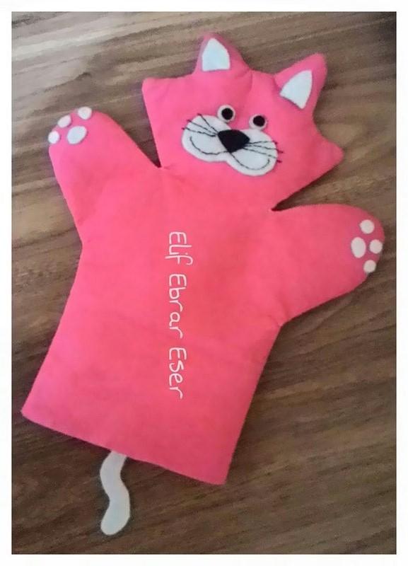 Photo of Felt animal puppet craft