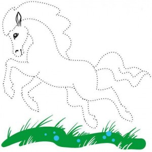 horse_tracing_lines
