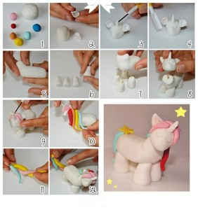 how_to_make_playdough_horse