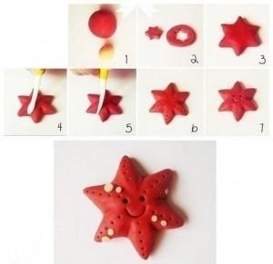 how_to_make_playdough_starfish