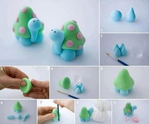 how_to_make_playdough_tortoise
