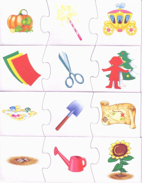 Sequences Cognitive Puzzle Preschool And Homeschool