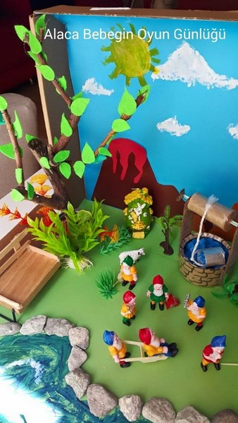 snow _white_ and_ the_ seven_ dwarfs_sensory_table