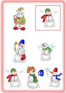 Find_the_same_objects_snowmen
