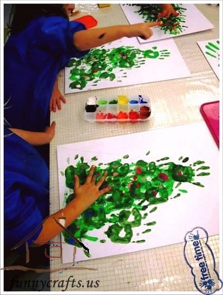 Advent Calendar Ideas Eyfs : Printmaking ideas for kids funny crafts