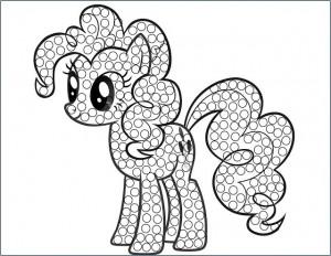 little_pony_kulak_çöpü_boyama