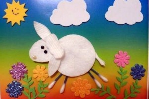 make_up_cotton_pad_crafts_for_kids