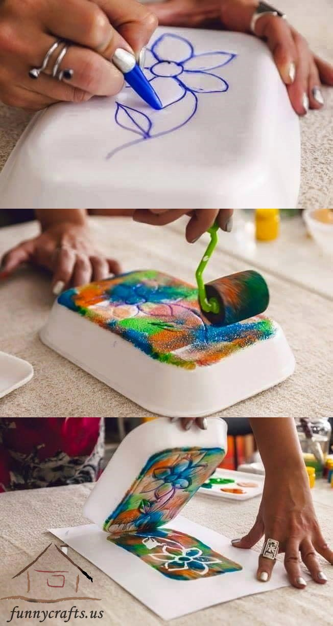 Printmaking Ideas for Kids Funny