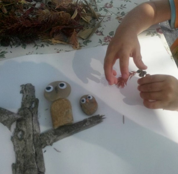 preschool_art_activities_with_real_leaves