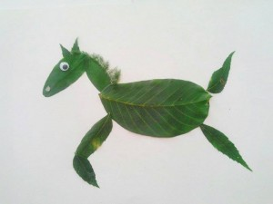 preschool_crafts_using_leaves