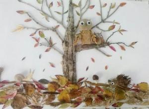 preschool_real_leaves_crafts