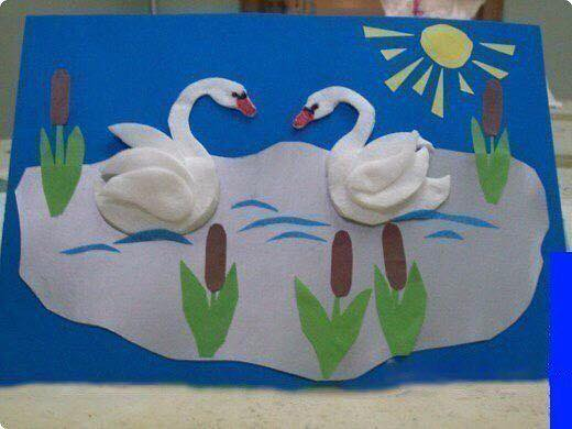wonderful_swans_from_cotton_pads