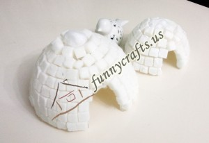 ıgloo_crafts_sugar_cube_for_kids