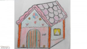 I'm designing my own house for primary school
