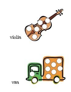 alphabet do a dot cards