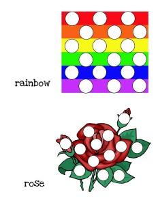 alphabet do a dot for primary school