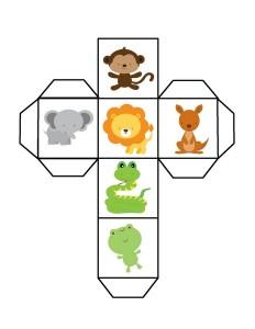 animals making dice