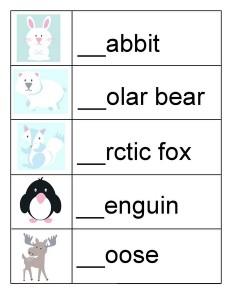animals preschool