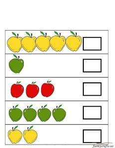 apple number exercise