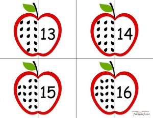 apple number puzzle early years
