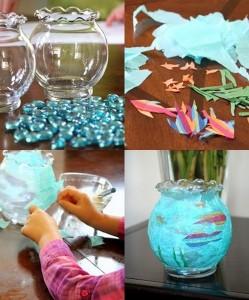 aquarium fısh crafts