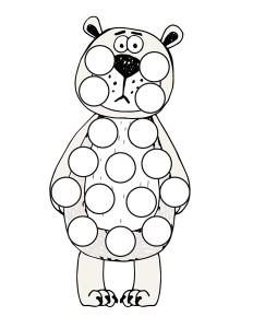 bear dot a dots