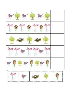 birds pattern for kıds