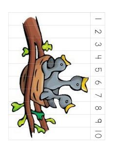 birds puzzle printables