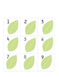 bugs leaf numbers