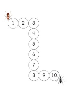 bugs numbers exercise