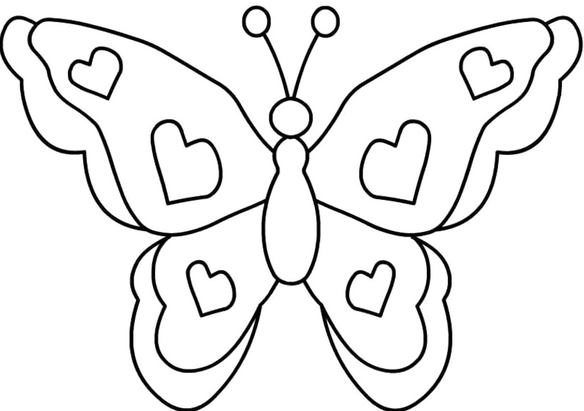 butterfly coloring f u0131ne motor  2   u00ab preschool and homeschool