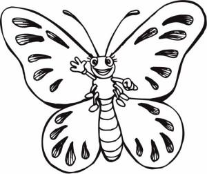 butterfly coloring fıne motor (4)