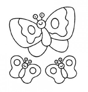 butterfly coloring for children (3)