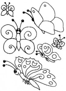 butterfly coloring for kıds (2)