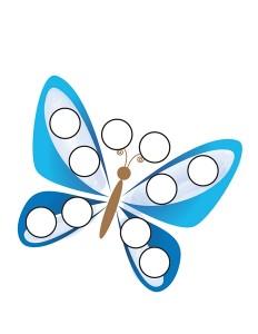 butterfly do a dots