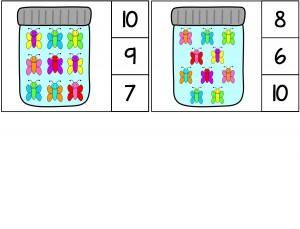 butterfly math activities