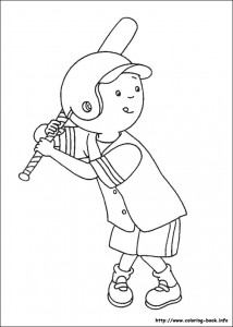 caillou coloring game