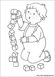 caillou coloring games
