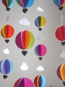 circle paper ballon