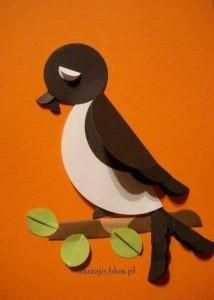 circle paper bird activities