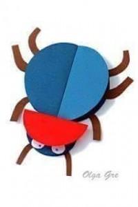 circle paper bugs