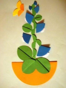 circle paper craft